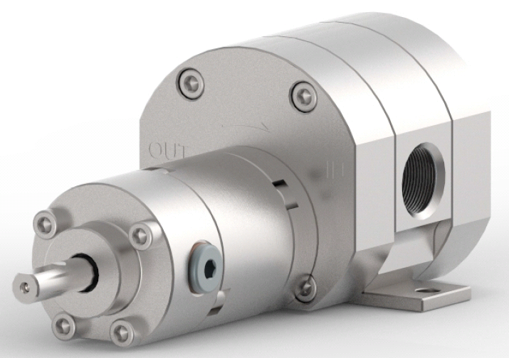 Насосы MVV Gear Pumps серии PU